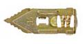 Snapukas, kalamas plieninis kaištis gipskartonio plokštei